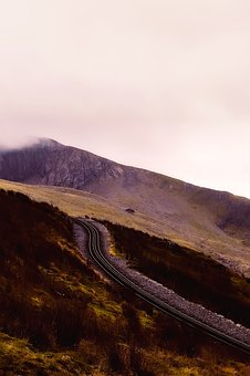 Wales, England, Great Britain, Landscape, Mountains