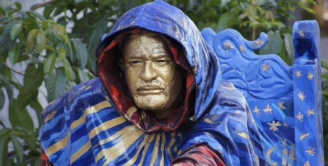 Head, Sculpture, Man, Monument, Theatre