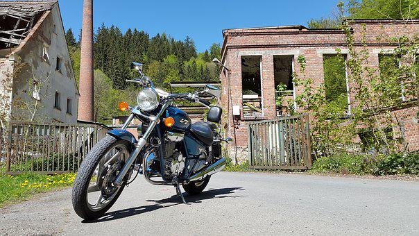 Chopper, Cruiser, Moped, Motorcycle, Drive, Freedom