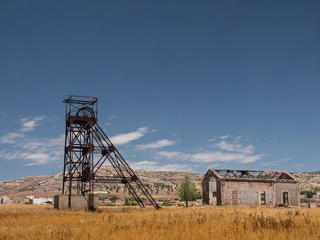 Mines, Mining, Cast Iron, Structure, Landscape, Miner