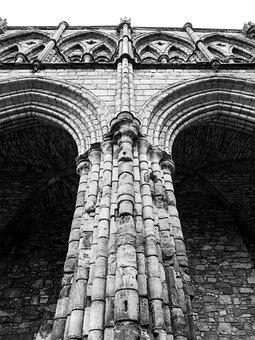Abbey, Stone, Church, Architecture, Temple, Scotland
