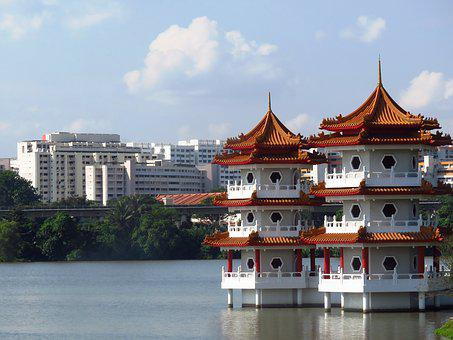 Tower Building, Chinese Garden, Singapore