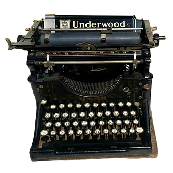 Vintage, Typewriter, Underwood, Antique, Letter