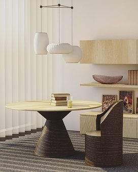 Architecture, House, Interior, Design, Living, Room