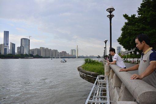 Guangzhou, Zhujiang, Pearl, River, City, Travel, Urban