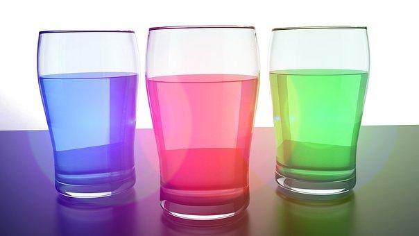 Glass, Water, Colo, Liquid, Drink, Fresh, Clear, Clean
