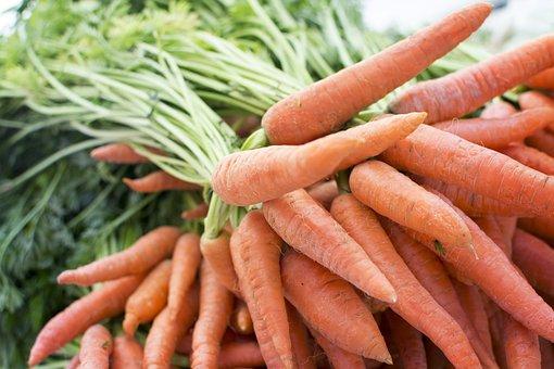 Carrot, Produce, Grocery, Farm, Table, Market, Trade