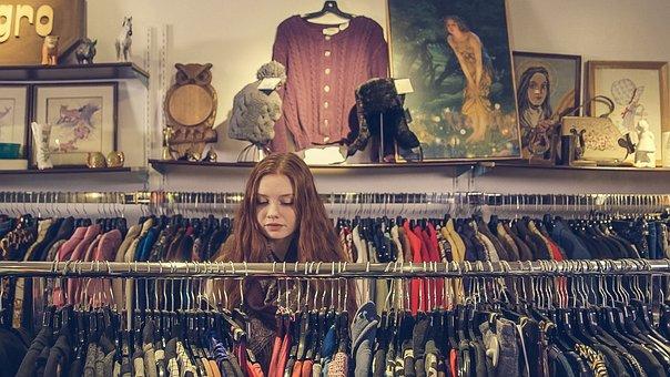 People, Girl, Female, Lady, Clothing, Store, Fashion