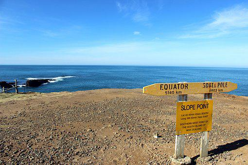 Slope Point, The Southernmost Point, New Zealand