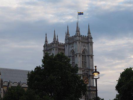 Building, England, Sky, Trees, Historically, London