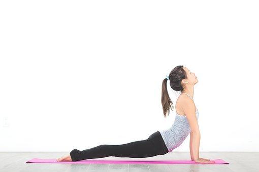 People, Woman, Yoga, Mat, Meditation, Physical, Fitness