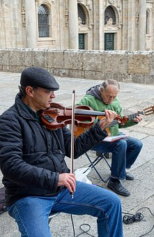 Buskers, Violin, Musician, Fiddle, Violinist, Musical