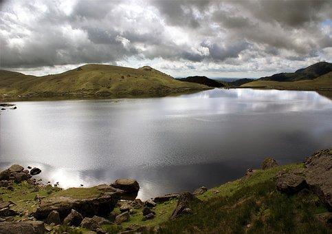 The Lake District, England, Wainwright, Mountains