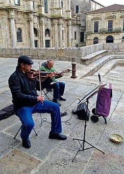 Busker, Violin, Musician, Fiddle, Violinist, Musical