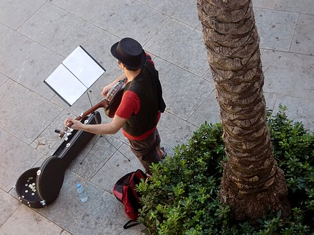 Street Musicians, Guitar, Musician, Music