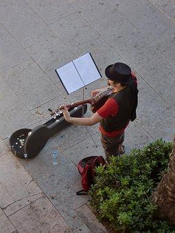 Street Musicians, Musician, Guitar, Street Music