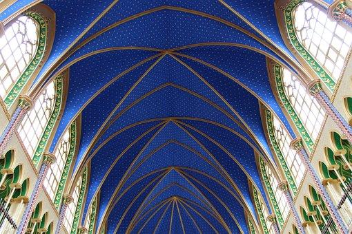 Church, Religion, Cloister, Architecture, Faith