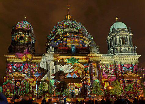 Berlin Cathedral, Berlin, Festival Of Light, Dom