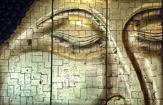 Buddha, Buddhist, Face, Gold, Harmony, Spa, Feng Shui