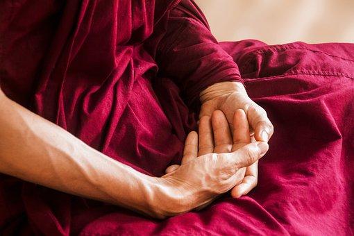 Meditation, Theravada Buddhism, Meditating Hand Posture