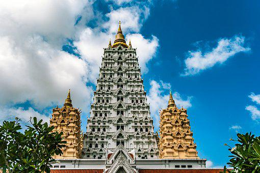 Pagoda, Feng Shui, Temple, Thailand