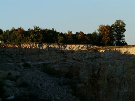 Quarry, Limestone, Stones, Rock Deposit, Quarrying