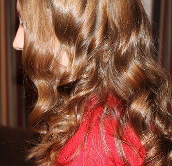 Hair, Curls, Blonde, Long, Hairstyle, Woman, Wavy
