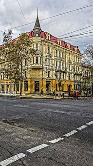 Odessa Crossroads, Walkway, Autumn, Clouds