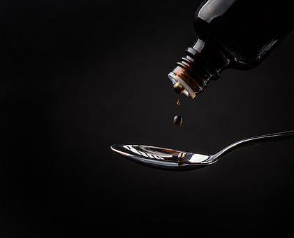 Cough Syrup, Medicine, Spoon, Improvement
