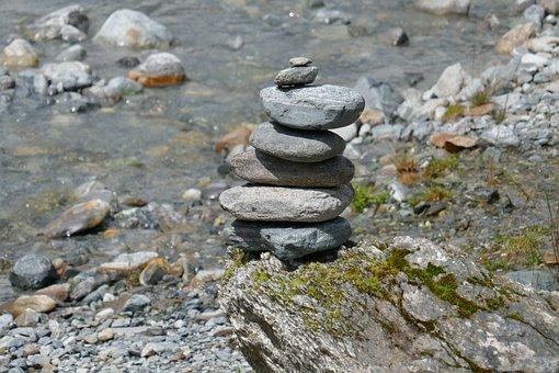 Stones, Sculpture, Stone Sculpture, Statue