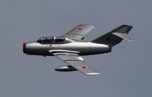 The Mig-15, Russian Fighter, Soviet Fighters, Bassoon