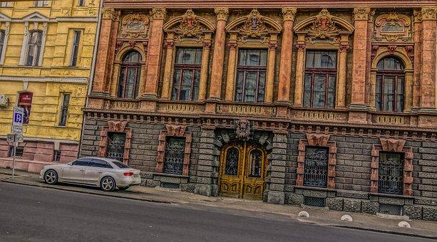 Odessa, Dolocenih, Road, Machine, Autumn