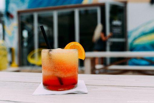 Drinks, Juice, Cocktails, Mocktails, Orange, Garnish