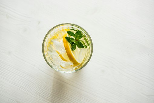 Lemon, Citrus, Fruit, Water, Juice, Ice, Drink, Glass