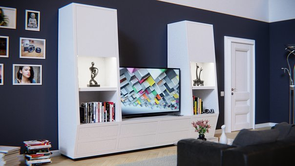 Living Wall, Furniture, Shelf, Cabinet