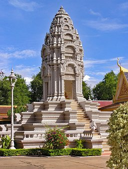 Royal Palace, Silver Pagoda, Phnom Penh Cambodia, Asia