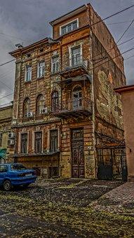 Odessa Building, Antiquity, Machine, Road