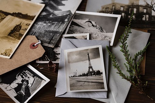 Photo, Picture, Envelope, Craft, Table