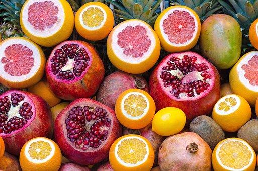 Fruits, Orange, Citrus, Juice, Vitamins, Health, Food