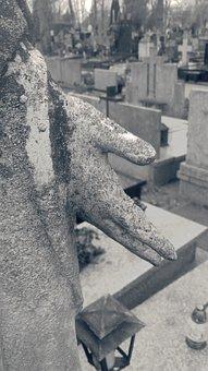 Cemetery, Monument, Figure, Maria, Sculpture