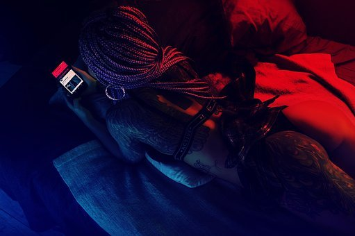 People, Hair, Hairstyle, Body, Tattoo, Mobile, Phone
