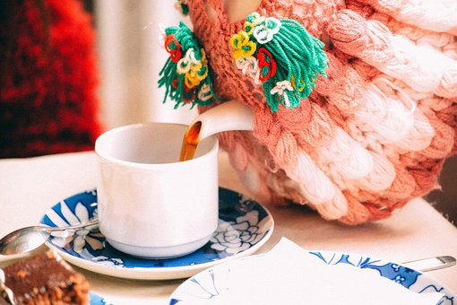 Teapot, Cup, Saucer, Spoon, Herbal, Tea, Health