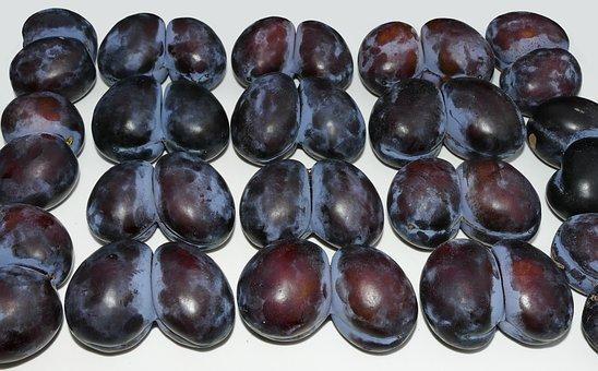Plum, Twin, Twin Plum, Strange, Fruit, Stone Fruit