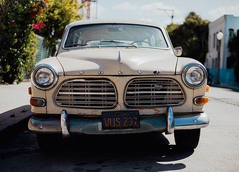 Vintage, Car, Auto, Vehicle, Travel, Road, Trip, Sunny