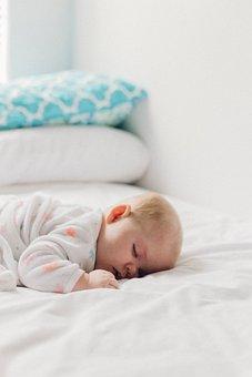 Bedroom, Bed, Pillow, Baby, Sleep, Kid, Child, Toddler