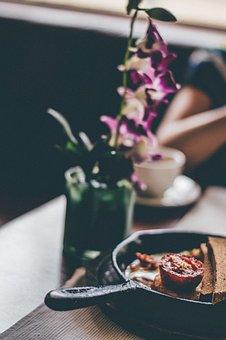 Dining, Table, Food, Breakfast, Lunch, Dinner, Bread