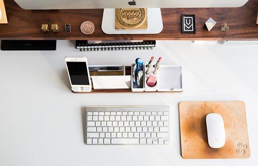 Apple, Mac, Monitor, Keyboard, Mouse, Cup, Mug, Coaster
