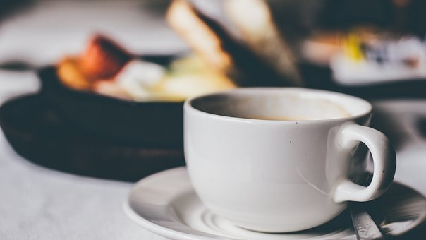 Coffee, Hot, Drink, Espresso, Cup, Saucer, Dining