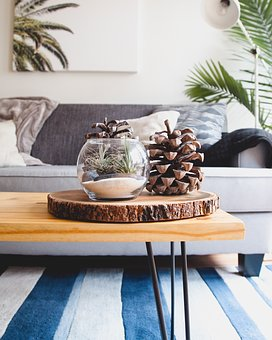 House, Interior, Couch, Sofa, Living, Room, Wooden