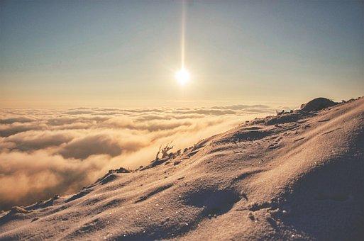 Highland, Landscape, Sunlight, Sun, Clouds, Sky, View